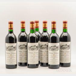 Chateau Belgrave 1986, 7 bottles