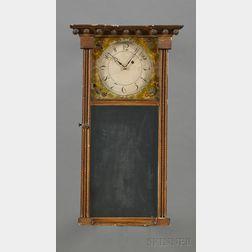 Federal Mirror Clock by Joshua Wilder
