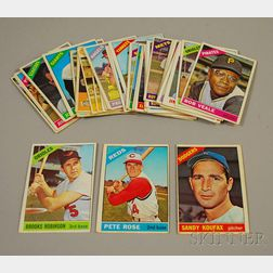 Forty-three Topps 1960s Baseball Cards