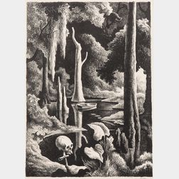 Thomas Hart Benton (American, 1889-1975)      Swampland