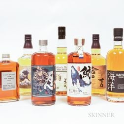 Mixed Japanese, 7 750ml bottles (5 oc) Spirits cannot be shipped. Please see http://bit.ly/sk-spirits for more info.