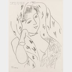 After Henri Matisse (French, 1869-1954)      Four Images from THEMES ET VARIATIONS  :