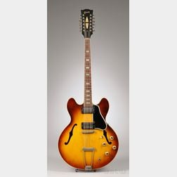 American Electric Guitar, Gibson Incorporated, Kalamazoo, c. 1965, Style ES-335-TD-1