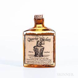 Quarter Whiskey, 1 pint bottle