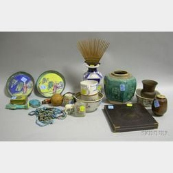 Group of Assorted Asian and Decorative Antique Items