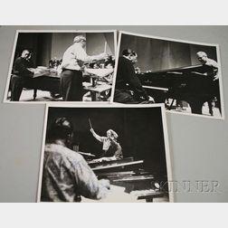 Three Duke Ellington and Detroit Symphony Orchestra Photographs