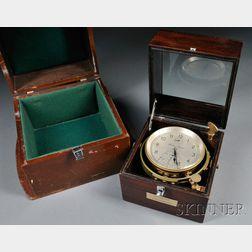 Eight-day Marine Chronometer by Thomas Mercer
