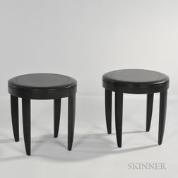 Two Andrew Gower Occasional Tables