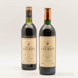Chateau Talbot, 2 bottles