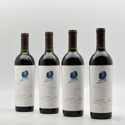 Opus One 1992, 4 bottles