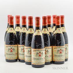 Domaine Pegau Chateauneuf du Pape Cuvee Reservee 2004, 11 bottles