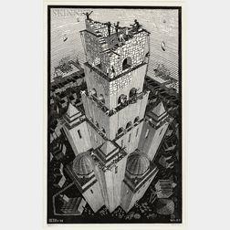 M.C. Escher (Dutch, 1898-1972)      Tower of Babel
