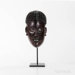 Chokwe Mask, Mwana Pwo