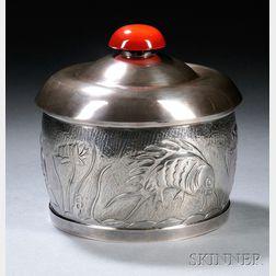 Henry Petzal Silversmith (1906-2002) Covered Box