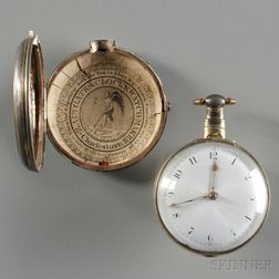 Thomas Worsfold Gilt Pair-cased Watch with Zacheus Gates Paper