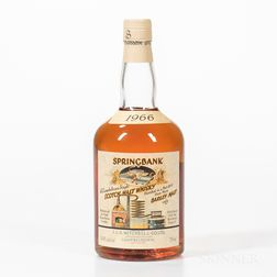 Springbank Local Barley 31 Years Old 1966, 1 750ml bottle
