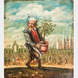 Manner of David Teniers II (Flemish, 1610-1690)      Spring, from an Allegory of the Four Seasons
