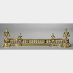 Pair of Louis XVI-style Chenets