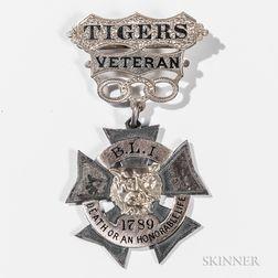 Identified 43rd Regiment Massachusetts Volunteers Medal