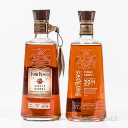 Four Roses Single Barrel, 2 750ml bottles Spirits cannot be shipped. Please see http://bit.ly/sk-spirits for more info.