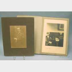 Two Early 20th Century Autographed Portrait Photographs