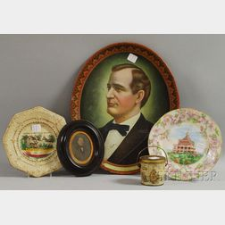 Five Assorted Collectible and Decorative Items