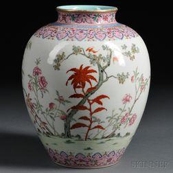 Famille Rose Jar