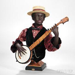 *Banjo Player Automaton by Gustav Vichy