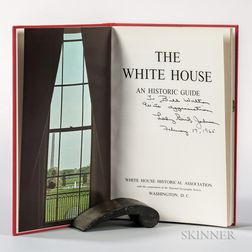 Johnson, Lady Bird (1912-2007) The White House, an Historic Guide  , Signed Presentation Copy.