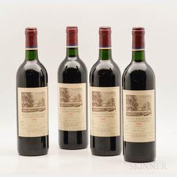 Chateau Duhart Milon 1988, 4 bottles