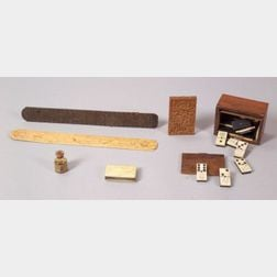 Five Sailor-Related Objects and a Vial of Whale Oil