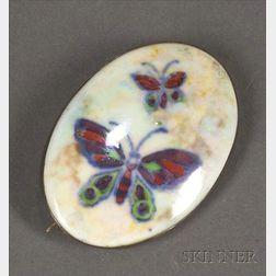 Wedgwood Butterfly Lustre Brooch