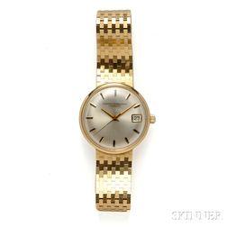 "Gentleman's 14kt Gold ""Gyromatic"" Wristwatch, Girard Perregaux"