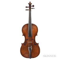 German Violin, Johann Gottlob Heberlein, Neukirchen, c. 1830