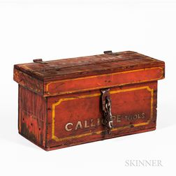 J.W. Taggart Combined Shows Calliope Tool Box