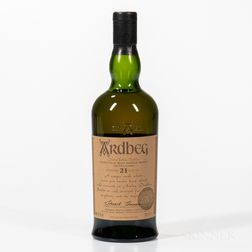 Ardbeg Committee 21 Years Old, 1 70cl bottle