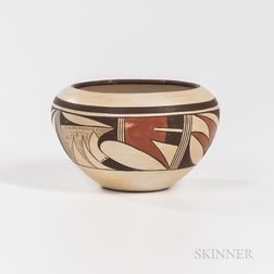 Contemporary Southwest Pottery Bowl