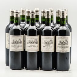 Chateau Cantemerle 2010, 12 bottles