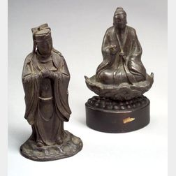Two Bronze Images