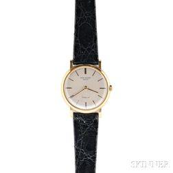 Gentleman's 18kt Gold Wristwatch, Patek Philippe, Gubelin