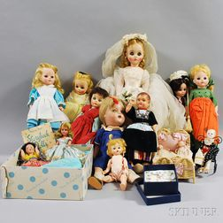 Collection of Miscellaneous Dolls and Accessories