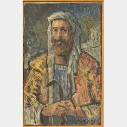 Michael Waterman (American, b. 1947)      Three Paintings: In Consideration of Saint Ann ,  The Vision of Lybat