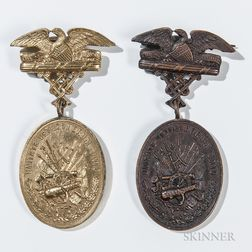 Two United Veterans Union Medals