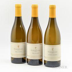 Peter Michael, 3 bottles