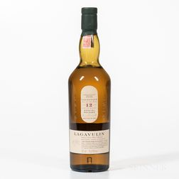 Lagavulin 12 Years Old, 1 70cl bottle