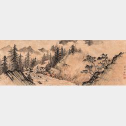 Cai Peizhu (1900-1990), Landscape