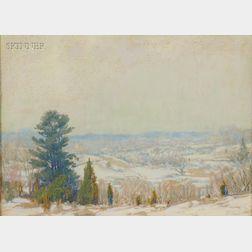 Frederick Mortimer Lamb (American, 1861-1936)      Winter View