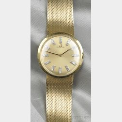 18kt Gold Wristwatch, Omega