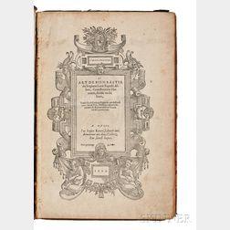 Alberti, Leon Battista (1404-1472) L'Architecture et Art de Bien Bastir.