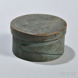 Small Blue-painted Pantry Box